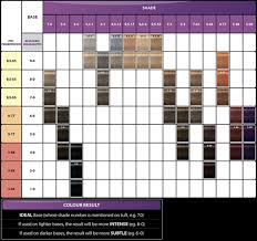 Igora Gloss And Tone Color Chart Igora Color Gloss Mousse Mousse Color Hair Color
