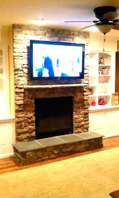 mounting tv above fireplace above fireplace really