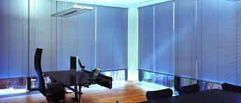 Office window blinds Blue Commercial Office Vertical Blinds Arc Window Films Window Blinds For Offices Uk Office Window Blinds Office Vertical