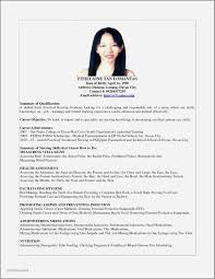 Resume Sample For College Student Philippines Elegant Sample Resume
