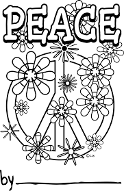 Small Picture Coloring Pages Of Peace Signs Printable Coloring Pages