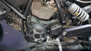ducati scrambler sixty2 air cooled engine at 2015 thailand motor