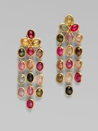 full size of lighting extraordinary multi colored chandelier earrings 24 marco bicego 18k gold multicolor sapphire