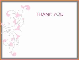 Blank Thank You Card Template Word Free Thank You Card Template For Word 10 Proto Politics