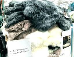 faux sheepskin rug s furniture s bedroom sets costco fur white huge grey sheepskin rug large costco