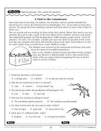 Reading Comprehension Worksheets College. Reading ...
