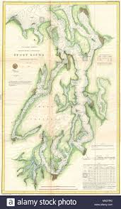 Puget Sound Washington Territory English This Is A Very