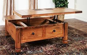 rustic square coffee table with storage simple home designs 1190 760