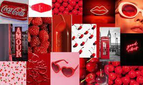 red computer wallpaper