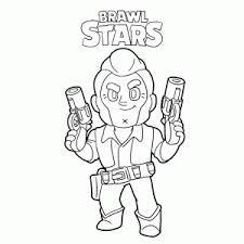 Brawl stars kleurplaat lou : Brawl Stars Coloring Pages Fun For Kids Leuk Voor Kids