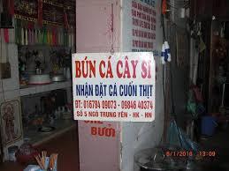 Address Phone Number Bild Von Bun Ca Sam Cay Si Hanoi Tripadvisor