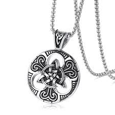 whole stainless steel mens necklaces and pendants pn845