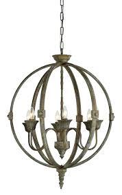 rustic bronze chandelier crystal