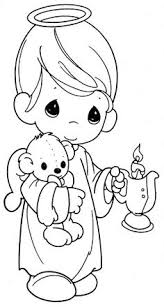 Small Picture precious moments coloring page Sellos Digitales Pinterest