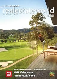 realestateworld.com.au - Illawarra Real Estate Publication, Issue 17  December 2015 by Estate Agents Co-operative - issuu
