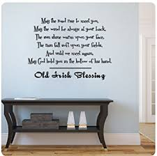 Small Picture Amazoncom Old Irish Blessing Wall Decal Sticker Art Mural Home