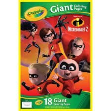 The fun doesn't end there. Find The Crayola Giant Coloring Pages Incredibles 2 At Michaels