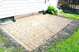home depot stones patio stone large concrete s ideas with gazebo bricks s brick pavers