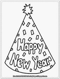 Small Picture Printable Coloring Pages New Years Eve Coloring Pages