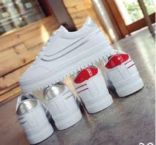 <b>autumn new style</b> small white shoes thick bottom fashion trend ...