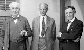 henry ford with thomas edison.  Ford Join Three Of The Giants 20th Century And Great Friends In  This Illuminating 1929 Film Interview Throughout Henry Ford With Thomas Edison