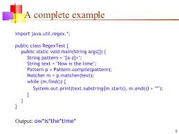 Regex Pattern Awesome 48 Java Regex