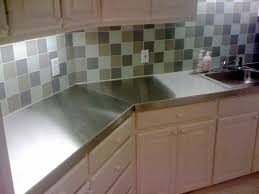Make Stainless Steel Countertop Kitchen Countertops Denise Collection With Stainless Steel Images