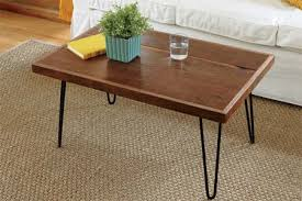 How to build a hairpin-leg coffee table. Photo: Ryan Kurtz | thisoldhouse