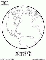 Small Picture globe map of the world coloring page for kids printable Free