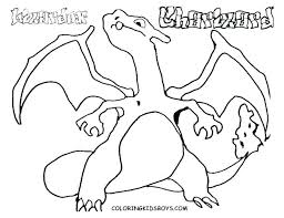 Charizard Coloring Page Pokemon Charizard Coloring Pages Download