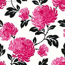 Pink Flower Wallpaper For Bedrooms Silver And White Wallpaper Wallpaper Wallpaper Pinterest