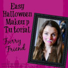 furry friend bunny or kitten easy makeup tutorial