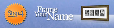 frame your name 07 5