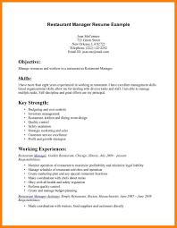 8 Resume For Servers Letter Setup