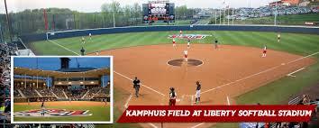 athletics facilities ks field at liberty softball stadium