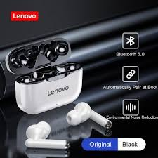 TWS Earphones Lenovo LP1 <b>Bluetooth</b> 5.0 Earbuds <b>Wireless</b> ...