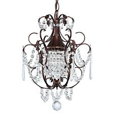 dazzling mini bronze crystal chandelier 17 regina olive 19 wide inspirational 19 photos of