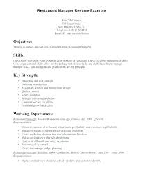 Restaurant Manager Resume Skills 13 Restaurant Manager Skills For Resume Proposal Bussines