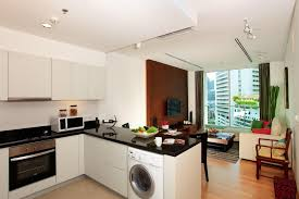 spacious small kitchen design. Charming Small Kitchen Living Room Combo Furniture Design Spacious A