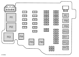 ford fiesta mk6 sixth generation from 2008 fuse box diagram ford fiesta mk6 fuse box engine junction