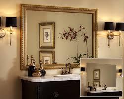 custom framing ideas. Bathroom Mirror Ideas With Custom Frame Regard To Framed Mirrors How Pertaining For Bathrooms Decor 4 Framing