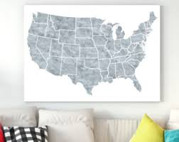 Large Us Map Poster Large Us Map Poster Maps Of World