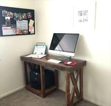 Rustic Computer Desk Ideas Homemade Best On Corner Office  Industrial Home
