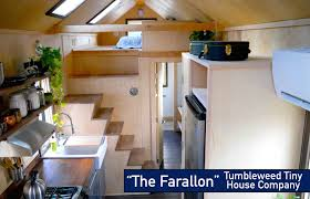 Small Picture Non Loft Sleeping The NEW Tumbleweed Farallon Tiny House YouTube