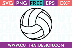 Today we have some free grunge sports ball svg files. Free Svg Files Volleyball Design Cut That Design