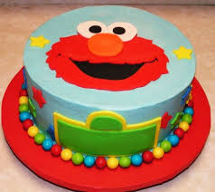Elmo Birthday Cake Fondant Cakes In Lahore Free Delivery
