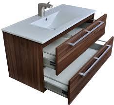 40 inch vanity base. Fine Vanity 40 Inch 2 Drawer Wall Mount Vanity In Walnut For Bathroom Furniture Idea With Vanity Base L