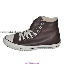 specials mens converse chuck taylor all star high tops with velvet leather brown preferred saddle acjkm12478
