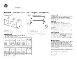 search electronic air filters user manuals manualsonline com ge ge zoneline az28e09dab