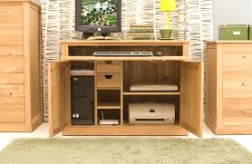 conran solid oak hidden home office. Conran Solid Oak Furniture Hidden Home Office Computer Desk. Model: COR06A L